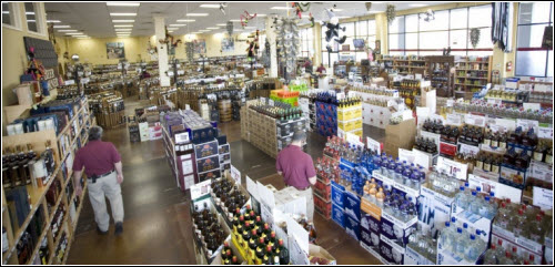 Cool Springs Wine and Spirits Franklin TN Interior